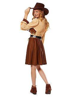 Déguisement femme - Déguisement Cowboy Femme  - Kiabi