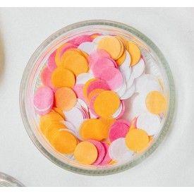 Mélange de minis-confettis - rose