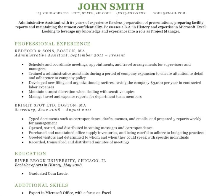 16 best Job Application Templates images on Pinterest Role - resume excel skills