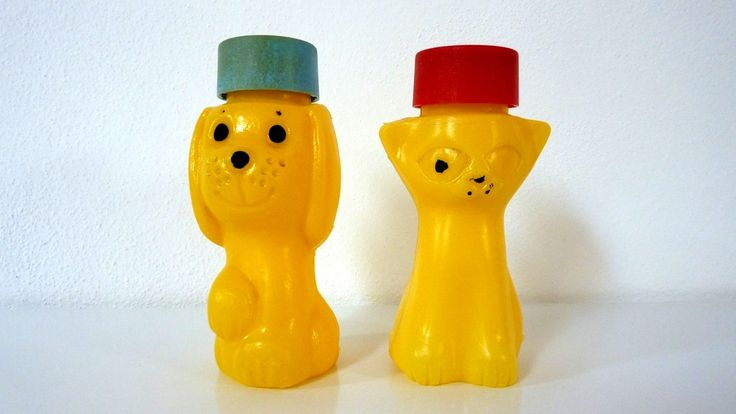 brusel expo '58: Bublifuky (bubble makers)- I had the puppy one