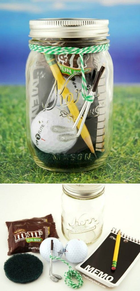 Homemade DIY Gifts in A Jar | Best Mason Jar Cookie Mixes and Recipes, Alcohol Mixers | Fun Gift Ideas for Men, Women, Teens, Kids, Teacher, Mom. Christmas, Holiday, Birthday and Easy Last Minute Gifts | Mini Golf Date in a Jar Gift |  http://diyjoy.com/diy-gifts-in-a-jar