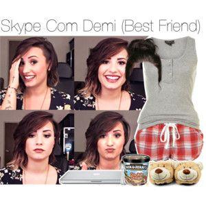 """Skype Com Demi (Best Friend)"""