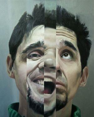 "Saatchi Art Artist Juan Gallego; Painting, ""Selfportrait"" #art"