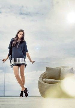 100% Merino Sergio Tunic. Luxury limited edition knitwear. www.elkaknitwear.co.nz