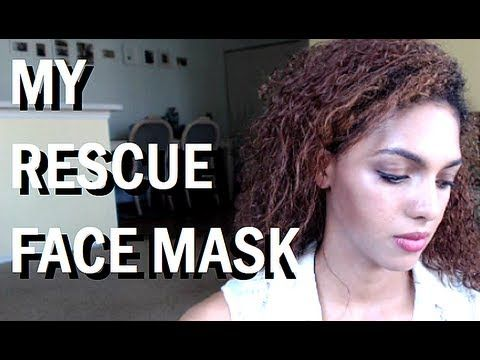 """My """"Emergency"""" Face Mask for Acne, Pimples, Redness, Dry or Oily, Irritated, Coarse Skin-- really simple, just cocoa, warm water, and aspirin!"""