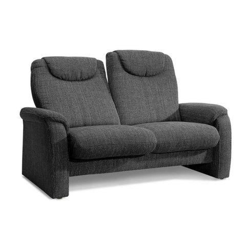 canape 2 places en tissu effet tweed dossiers avec tetieres home sit more vue 1 deco pinterest