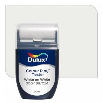 Buy Dulux Colour Play Tester White on White 30GY 88/014 online at Lazada Singapore. Discount prices and promotional sale on all Paints. Free Shipping.