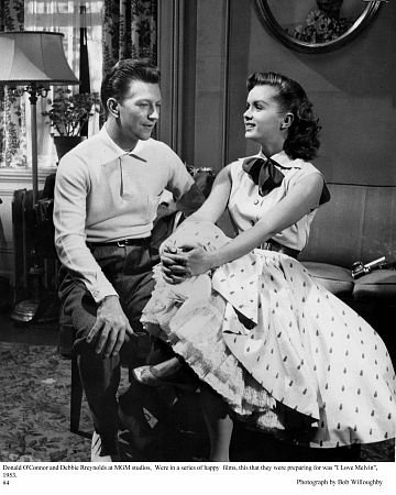 Donald O'Connor & Debbie Reynolds - I Love Melvin -  1953