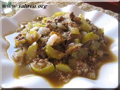 Cuisine libanaise : Courgettes à la libanaise ( mfaraket koussa) - Cuisine libanaise par Sahten