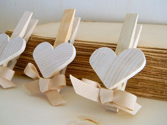 Set of 5 Shabby Chic Wedding Favors   Wedding by CountryChicHome, $14.00