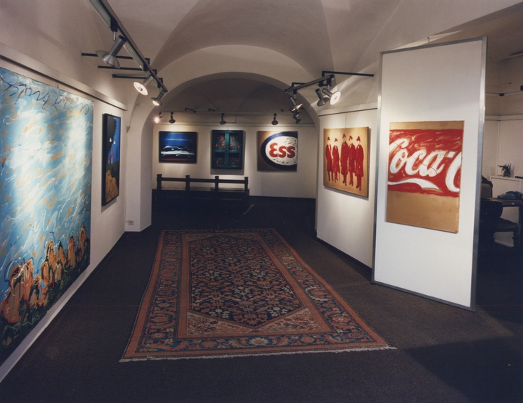 Spazi espositivi della galleria d'Arte Mentana a Firenze