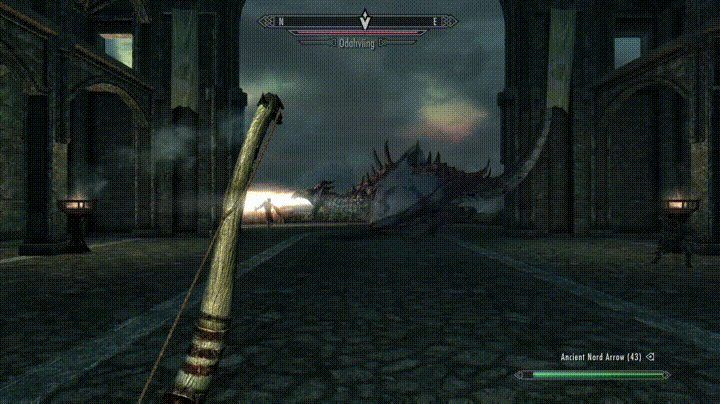 In the heat of the battle... #games #Skyrim #elderscrolls #BE3 #gaming #videogames #Concours #NGC