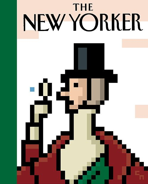 New Yorker Cover – Christoph Niemann #illustration #editorial