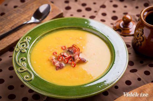 Csilis vöröslencse-leves - Vidék Íze