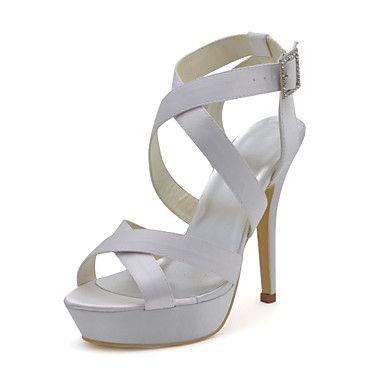 Eleganti da sposa Sandali con fibbia in scarpe da sposa (più colori) – EUR € 49.49