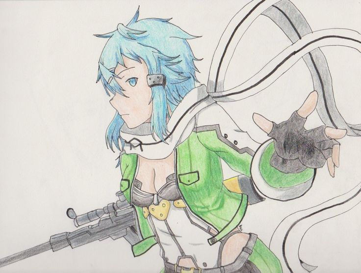 Sinon from Sword Art Online 2!