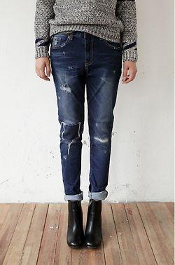 200 best images about Boyfriend jeans & ankle boots on Pinterest ...
