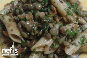 Harika Yeşil Mercimek Salatası Tarifi