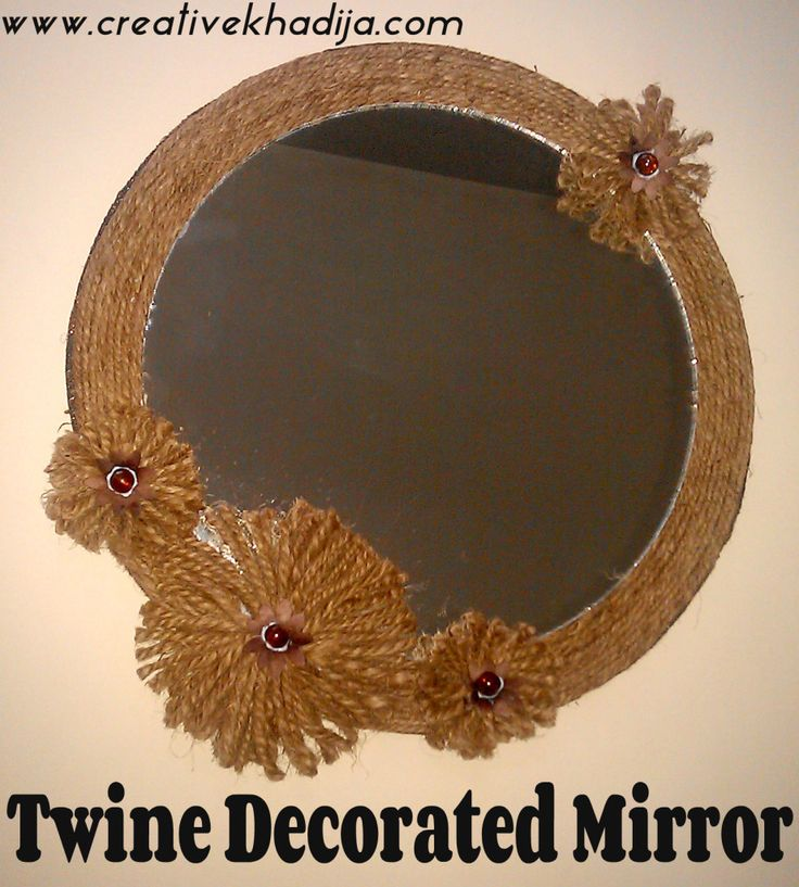 Mirror Decoration Ideas top 25+ best decorated mirrors ideas on pinterest | diy floral