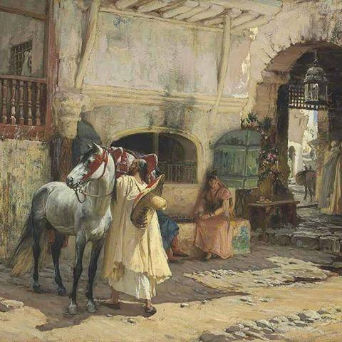 ذهب في جولة ،قسنطينة ، الجزائر Parti pour un tour ,Constantine ,Algérie Frédérick Arthur Bridgman ,Peintre Américain (1847_1928) #algerie #algeria #constantine #peinturedalgerie #orientaliste #art #art #artwork #artofinstgram #paint #painting #oilpainting #الجزائر #الجزائر_المحمية_بالله #تاريخ_الجزائر #التراث_الجزائري #اللباس_التقليدي_الجزائري #لوحات_فنية_جزائرية #لوحة_فنية