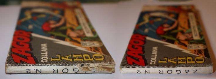 RESTAURO RESTAURO STRISCIA N°2 ZAGOR www.atelierdangelone.it