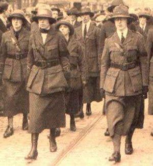 Members of Cumann na mBan, 1914