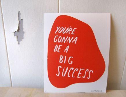 Just a Little Encouragement Print | Little Paper Planes