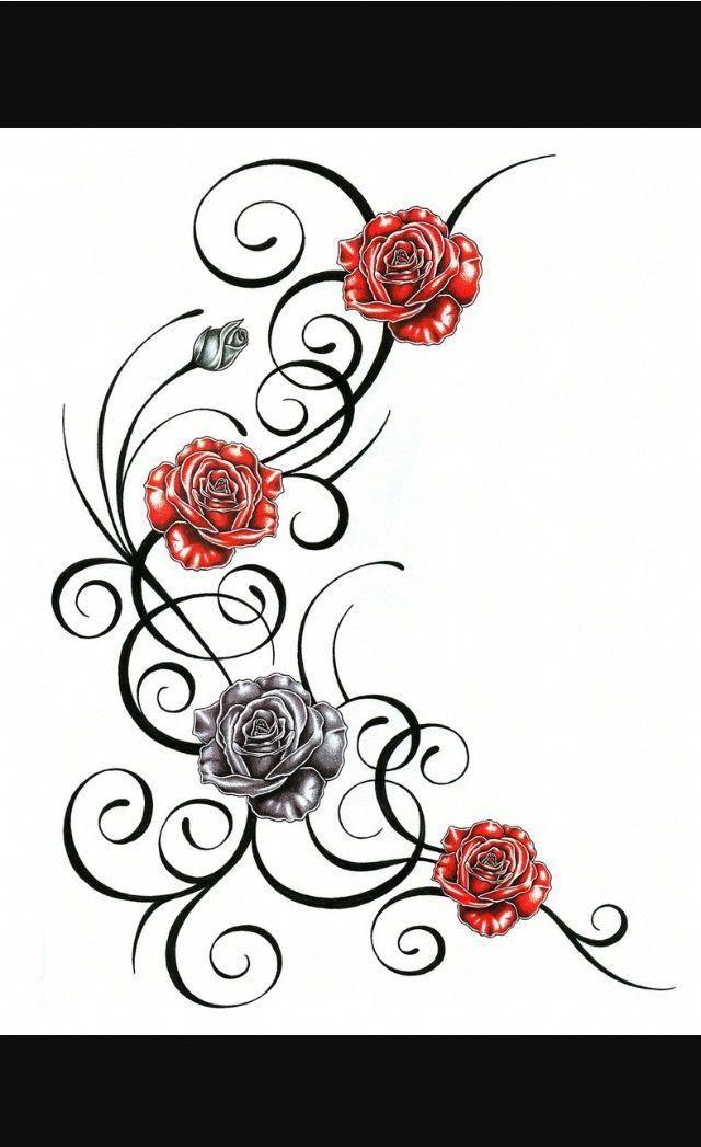 Samoantattoos Vine Tattoos Tribal Rose Tattoos Tribal Tattoo Designs