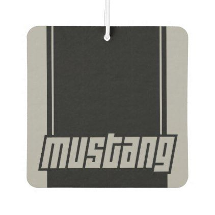 Mustang Fast Racing Stripes Modern Muscle Car Air Freshener - stripes gifts cyo unique style