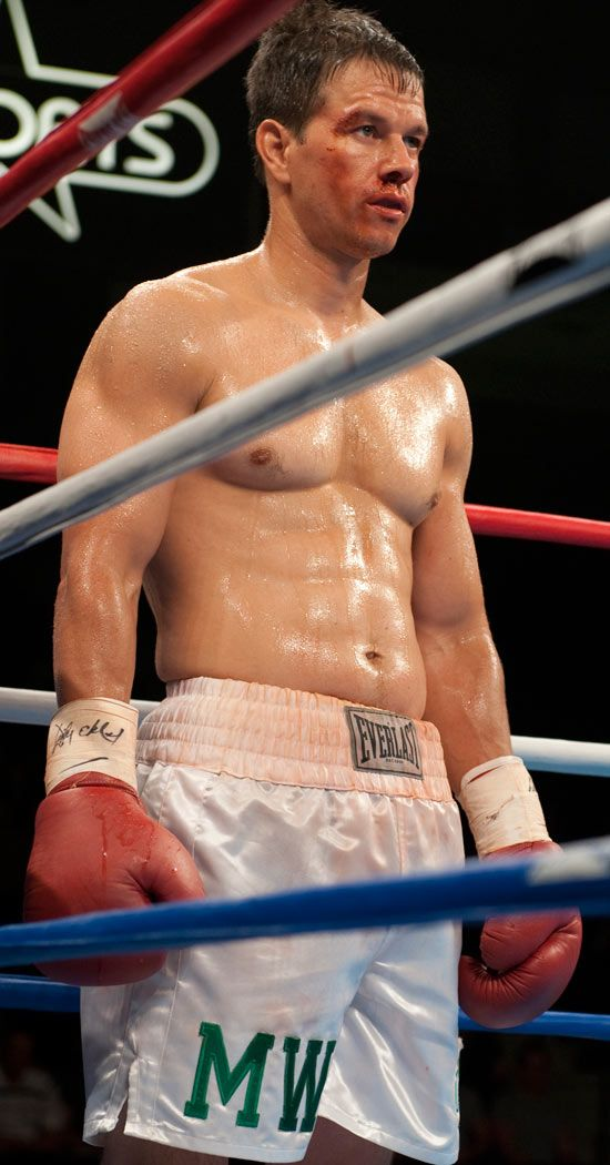 The Fighter - Mark Wahlberg As Micky Ward (American welterweight boxer from Lowell, Massachusetts.)