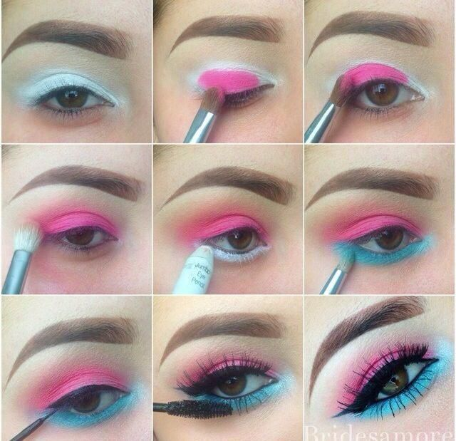 These Skin Care Tips Will Make Your Skin Happy Summer Eye Makeup Blue Eye Makeup Pink Eye Makeup