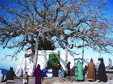 Ibn Mashish (Moulay Abdesslam) in the Rif Mountains, Jebel 'Alam, Morocco