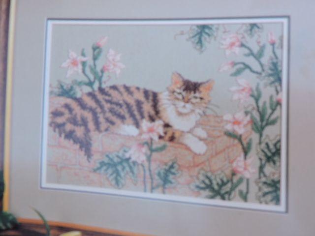 SeeSallySew.com - Tabatha's Garden Kitten Gardern Kitty Cat Cross Stitch Color Charts 10306, $8.99 (http://stores.seesallysew.com/tabathas-garden-kitten-gardern-kitty-cat-cross-stitch-color-charts-10306/)