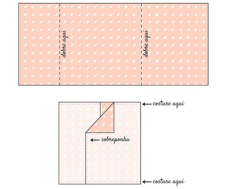 Como fazer capa de almofada, tutorial passo-a-passo para almofada envelope…