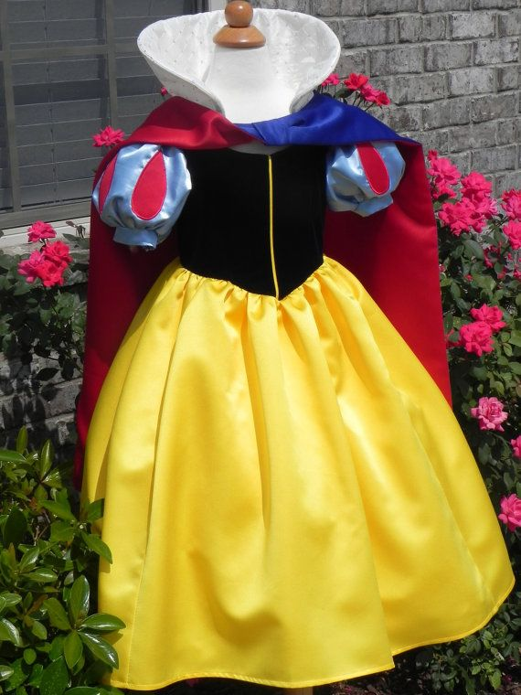 Out of my price range, but gorgeous! Snow White for toddlers and small children. Custom made.