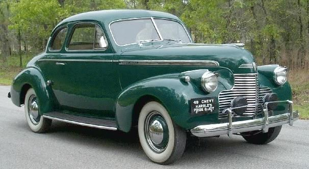 1940S CARS | Oldtimer picture gallery . Cars . 1940 Chevrolet .