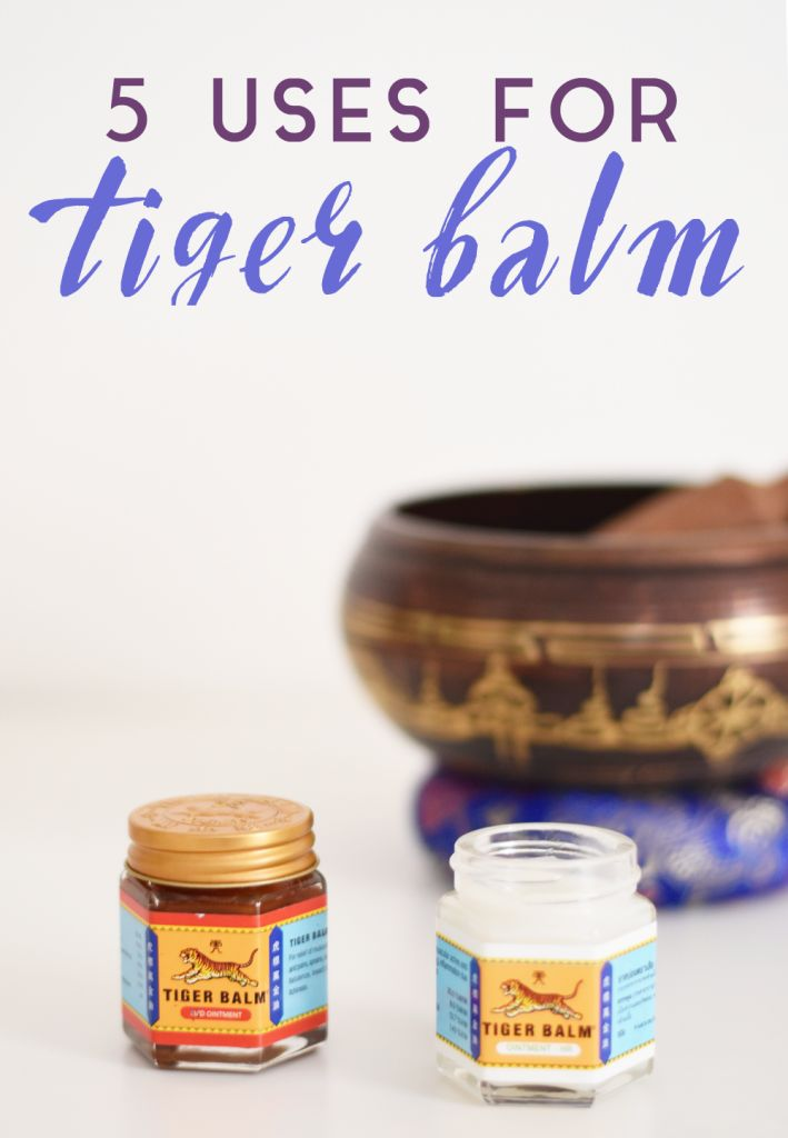 5 Uses for Tiger Balm