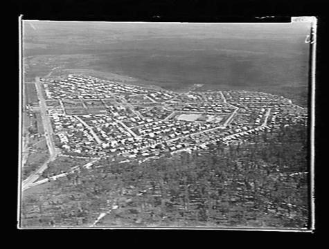 [Yallourn in about the 1940s.]