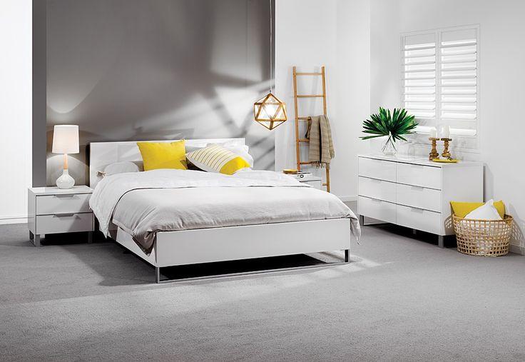 Ice 4 Piece Dresser King Bedroom Suite | Super Amart