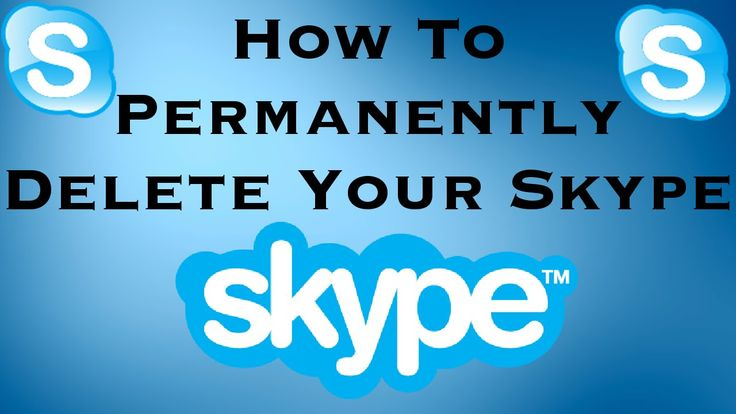 how to permanently delete skype history