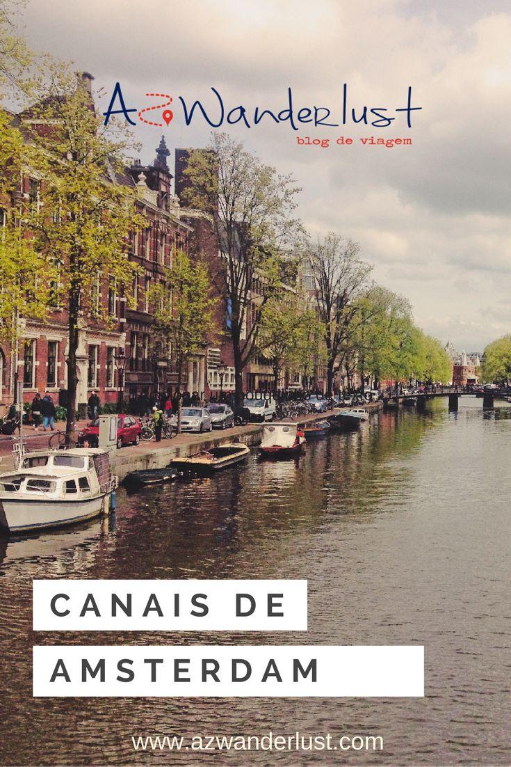 """Dizem que Amsterdam é a Veneza do Norte. Mas a briga é boa, pois Bruges, Estocolmo, São Petersburgo, Manchester e Copenhague também querem o título. Só que Amsterdam se destaca de todas elas porque tem um ditado que diz: """"Deus criou o mundo, mas os holandeses criaram a Holanda"""". Saiba como funcionam os canais de Amsterdam!"""