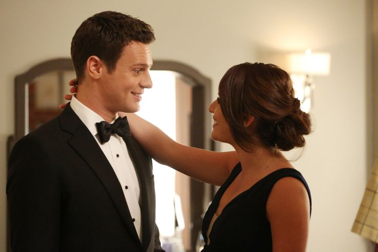 "Rachel Berry and Jesse St. James in ""Dreams Come True"""