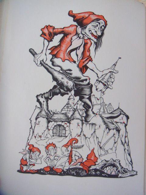 De sprookjes van Grimm met tekeningen van Anton Pieck - 1950