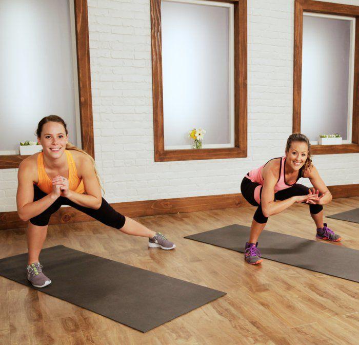 an den beinen abnehmen oberschenkel trainieren schlanke beine