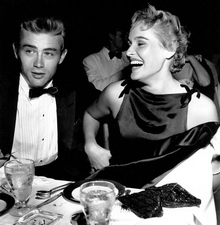 James Dean and Ursula Andress dated for a long time. On the day of James Dean death, he asked Ursula to drive with him to San Francisco in his Porsche 550 Spyder. Ursula told James Dean she was in love with John Derek, and James took off from Los Angeles by himself in his Porsche 550 Sypder and he crashed and died. I imagine this brings up the question of whether Ursula literally drove James Dean to his death!?!