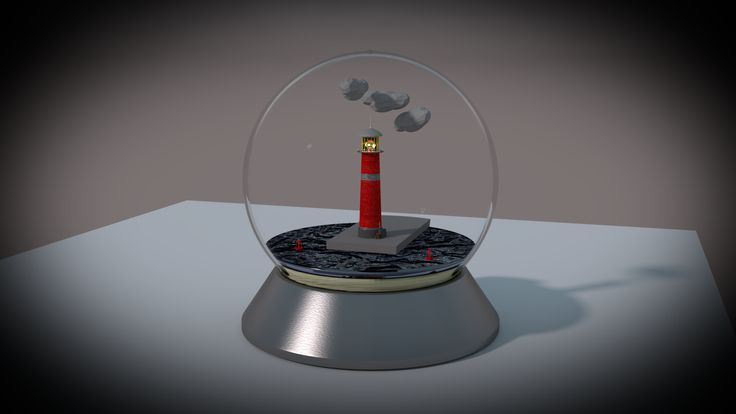 Light House. Modeled and Rendered in Blender Cycles.