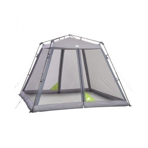 Tent Outdoor Screen House 10 x 10 Instant Shade Canopy Camping Backyard Parties