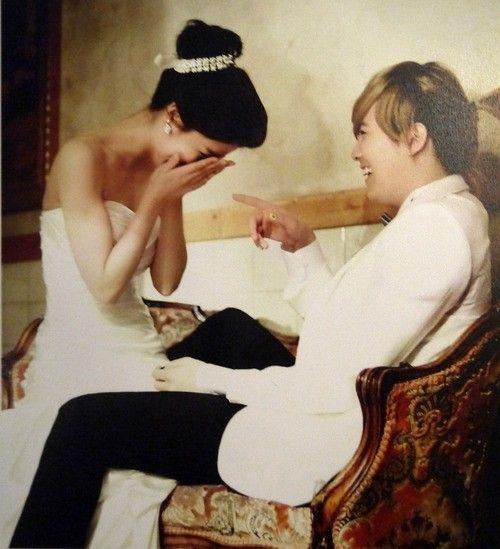 Lee Hong Ki & Fujii Mina on We Got Married Global (Wedding Shots) ♥