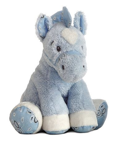 BUCK A ROO !!Take a look at this Buck A Roo Plush Horse by Aurora World Inc. on #zulily today! $11 !!