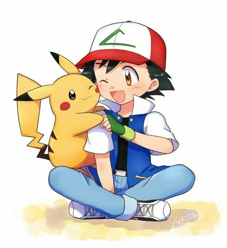 Ash And Pikachu So Cute Pokemon Eeveelutions Pokemon Cute Pokemon Wallpaper